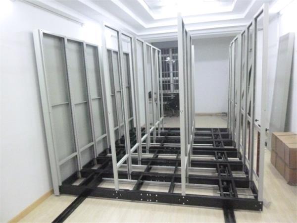 密集柜安装立柱图