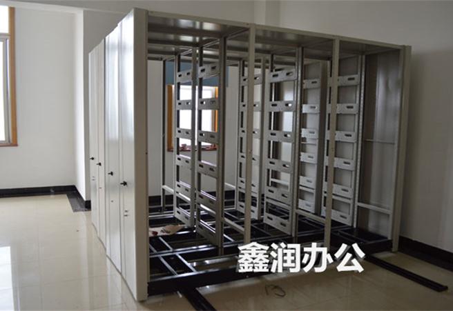 密集柜挂板隔板拆卸